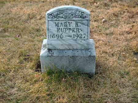 KUPPER, MARY K. - Shelby County, Ohio | MARY K. KUPPER - Ohio Gravestone Photos