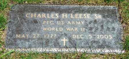 LEESE, CHARLES H. SR. - Shelby County, Ohio | CHARLES H. SR. LEESE - Ohio Gravestone Photos