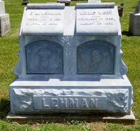 WERT, LIZZIE - Shelby County, Ohio   LIZZIE WERT - Ohio Gravestone Photos