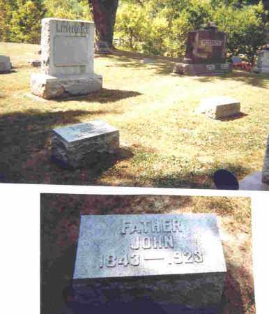 LENHART, JOHN J. - Shelby County, Ohio   JOHN J. LENHART - Ohio Gravestone Photos