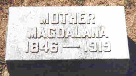 LENHART, MAGDALANA D. - Shelby County, Ohio   MAGDALANA D. LENHART - Ohio Gravestone Photos