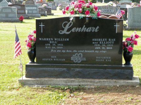 LENHART, WARREN WILLIAM - Shelby County, Ohio | WARREN WILLIAM LENHART - Ohio Gravestone Photos