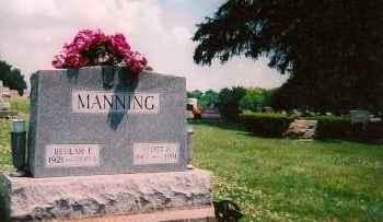 MANNING, BUELAH F - Shelby County, Ohio | BUELAH F MANNING - Ohio Gravestone Photos