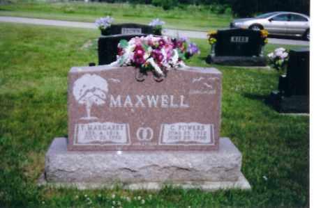 MAXWELL, T. MARGARET - Shelby County, Ohio   T. MARGARET MAXWELL - Ohio Gravestone Photos