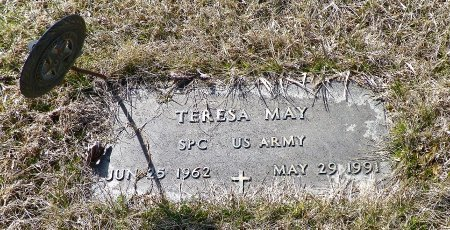 MAY, TERESA - Shelby County, Ohio | TERESA MAY - Ohio Gravestone Photos