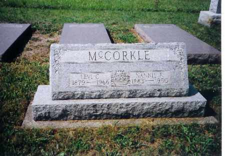 MCCORKLE, LEVI C - Shelby County, Ohio | LEVI C MCCORKLE - Ohio Gravestone Photos