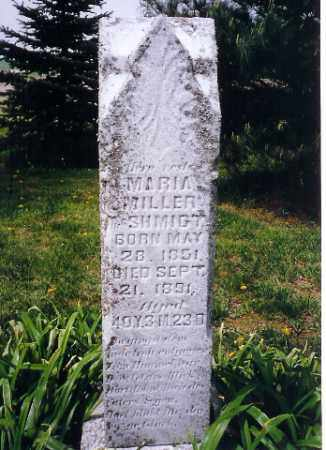 MILLER, MARIA - Shelby County, Ohio   MARIA MILLER - Ohio Gravestone Photos