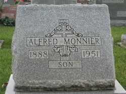 MONNIER, ALFRED - Shelby County, Ohio | ALFRED MONNIER - Ohio Gravestone Photos