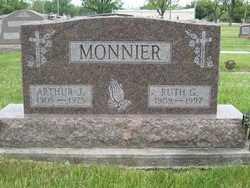 MAXEN MONNIER, RUTH GRACE - Shelby County, Ohio   RUTH GRACE MAXEN MONNIER - Ohio Gravestone Photos