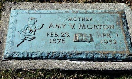 MORTON, AMY V. - Shelby County, Ohio | AMY V. MORTON - Ohio Gravestone Photos