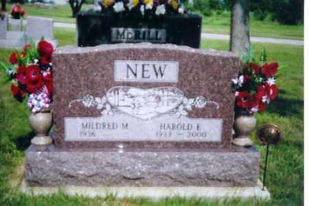NEW, HAROLD E - Shelby County, Ohio | HAROLD E NEW - Ohio Gravestone Photos