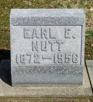 NUTT, EARL E. - Shelby County, Ohio | EARL E. NUTT - Ohio Gravestone Photos