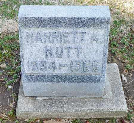 NUTT, HARRIET A. - Shelby County, Ohio | HARRIET A. NUTT - Ohio Gravestone Photos
