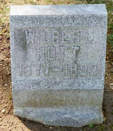 NUTT, WILBER I. - Shelby County, Ohio | WILBER I. NUTT - Ohio Gravestone Photos