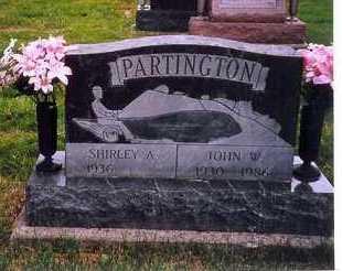 PARTINGTON, SHIRLEY A. - Shelby County, Ohio | SHIRLEY A. PARTINGTON - Ohio Gravestone Photos