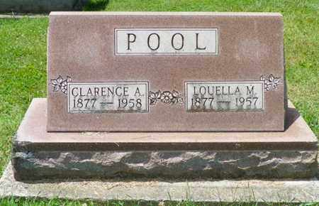 POOL, CLARENCE A. - Shelby County, Ohio | CLARENCE A. POOL - Ohio Gravestone Photos