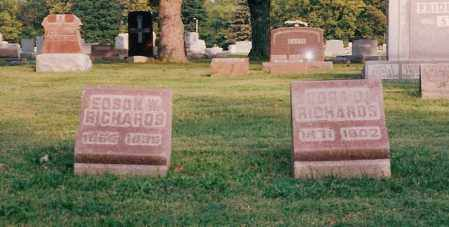 RICHARDS, CORA - Shelby County, Ohio | CORA RICHARDS - Ohio Gravestone Photos