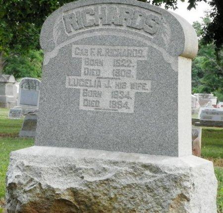 RICHARDS, FREDERICK REYNOLDS - Shelby County, Ohio | FREDERICK REYNOLDS RICHARDS - Ohio Gravestone Photos