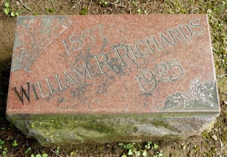 RICHARDS, WILLIAM REYNOLDS - Shelby County, Ohio   WILLIAM REYNOLDS RICHARDS - Ohio Gravestone Photos