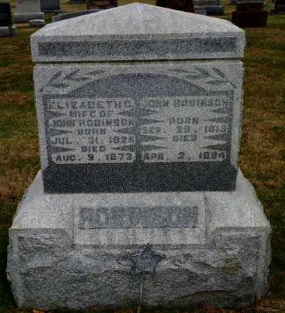 ROBINSON, JOHN - Shelby County, Ohio | JOHN ROBINSON - Ohio Gravestone Photos