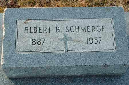 SCHMERGE, ALBERT B - Shelby County, Ohio | ALBERT B SCHMERGE - Ohio Gravestone Photos