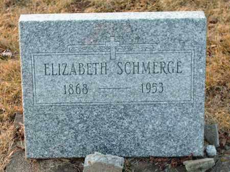 SCHMERGE, ELIZABETH - Shelby County, Ohio   ELIZABETH SCHMERGE - Ohio Gravestone Photos