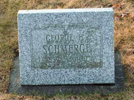 SCHMERGE, GEORGE H - Shelby County, Ohio | GEORGE H SCHMERGE - Ohio Gravestone Photos