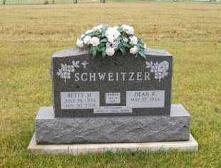 SCHWEITZER, BETTY M - Shelby County, Ohio | BETTY M SCHWEITZER - Ohio Gravestone Photos