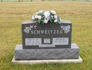 COMER SCHWEITZER, BETTY M - Shelby County, Ohio | BETTY M COMER SCHWEITZER - Ohio Gravestone Photos