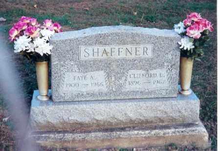 SHAFFNER, CLIFFORD L. - Shelby County, Ohio | CLIFFORD L. SHAFFNER - Ohio Gravestone Photos