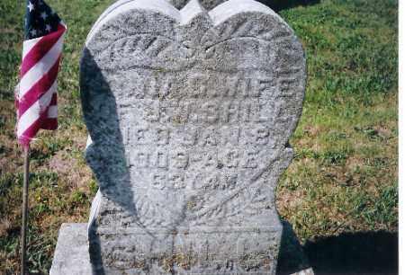 SHILL, ANNA - Shelby County, Ohio | ANNA SHILL - Ohio Gravestone Photos