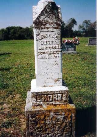 SHORT, GEORGE - Shelby County, Ohio | GEORGE SHORT - Ohio Gravestone Photos