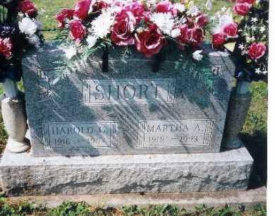 SHORT, MARTHA A. - Shelby County, Ohio | MARTHA A. SHORT - Ohio Gravestone Photos