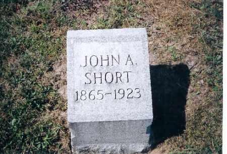 SHORT, JOHN A - Shelby County, Ohio   JOHN A SHORT - Ohio Gravestone Photos