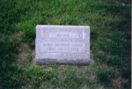 SNIDER, MABEL L - Shelby County, Ohio   MABEL L SNIDER - Ohio Gravestone Photos