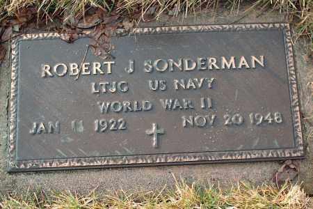 SONDERMAN, ROBERT J - Shelby County, Ohio   ROBERT J SONDERMAN - Ohio Gravestone Photos