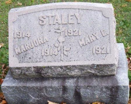 STALEY, MARJORA ELOISE - Shelby County, Ohio | MARJORA ELOISE STALEY - Ohio Gravestone Photos