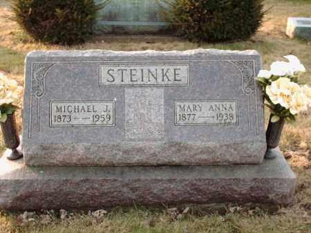 STEINKE, MICHAEL J - Shelby County, Ohio | MICHAEL J STEINKE - Ohio Gravestone Photos