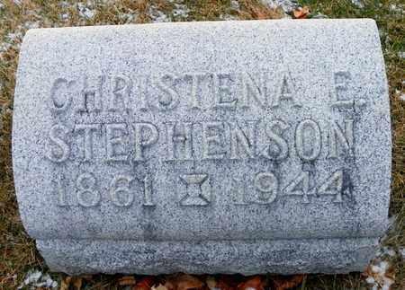 STEPHENSON, CHRISTENA E. - Shelby County, Ohio | CHRISTENA E. STEPHENSON - Ohio Gravestone Photos