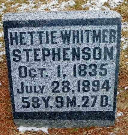 STEPHENSON, HETTIE - Shelby County, Ohio | HETTIE STEPHENSON - Ohio Gravestone Photos