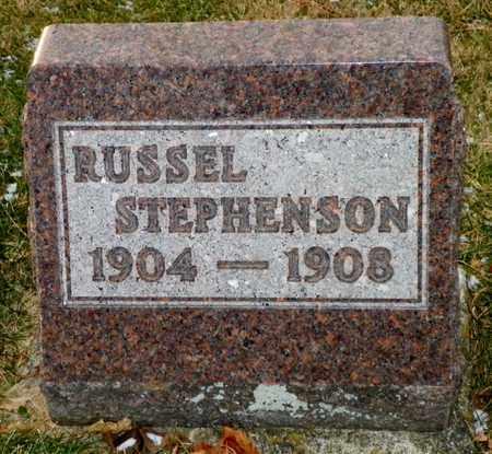 STEPHENSON, RUSSEL - Shelby County, Ohio | RUSSEL STEPHENSON - Ohio Gravestone Photos