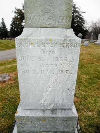 STEPHENSON, RACHEL - Shelby County, Ohio   RACHEL STEPHENSON - Ohio Gravestone Photos