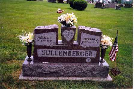 SULLENBERGER, EDWARD J. - Shelby County, Ohio   EDWARD J. SULLENBERGER - Ohio Gravestone Photos