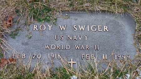 SWIGER, ROY W. - Shelby County, Ohio   ROY W. SWIGER - Ohio Gravestone Photos