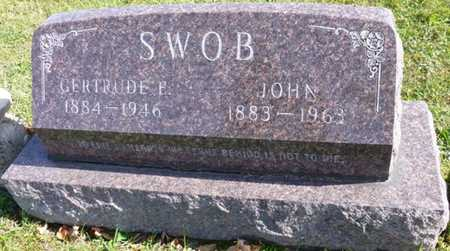 SWOB, JOHN - Shelby County, Ohio | JOHN SWOB - Ohio Gravestone Photos