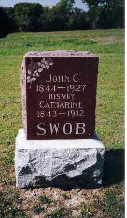 SWOB, CATHERINE - Shelby County, Ohio | CATHERINE SWOB - Ohio Gravestone Photos