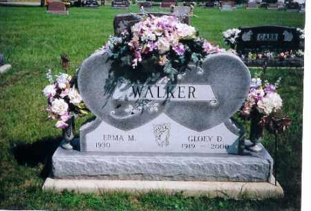 WALKER, GLOEY D. - Shelby County, Ohio   GLOEY D. WALKER - Ohio Gravestone Photos