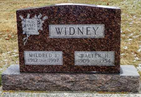 WIDNEY, MILDRED E. - Shelby County, Ohio | MILDRED E. WIDNEY - Ohio Gravestone Photos