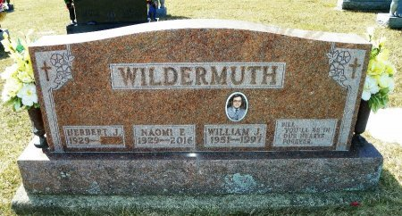 WILDERMUTH, WILLIAM J. - Shelby County, Ohio | WILLIAM J. WILDERMUTH - Ohio Gravestone Photos