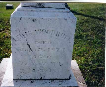 WOODRUFF, LEWIS - Shelby County, Ohio   LEWIS WOODRUFF - Ohio Gravestone Photos